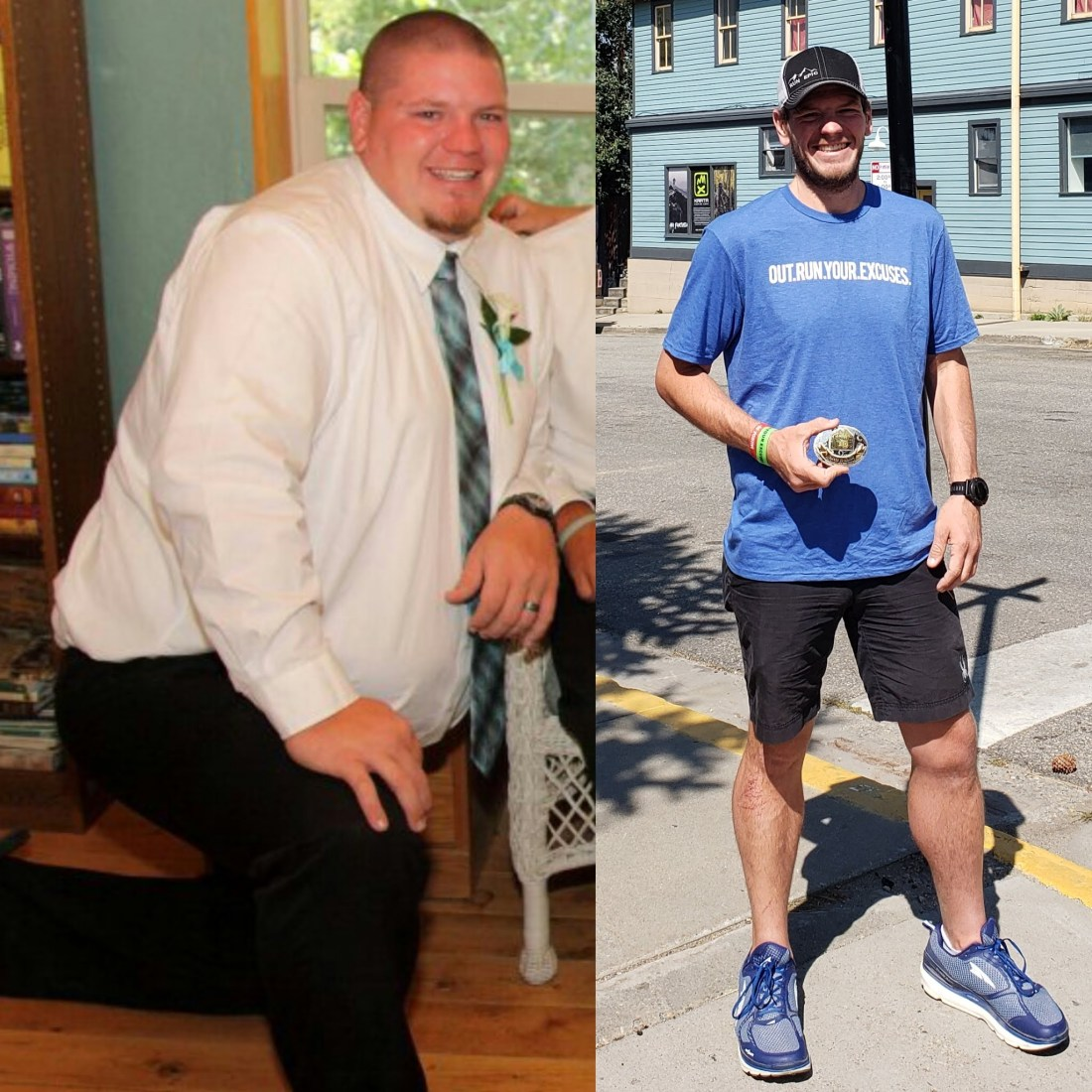 gary before and after run epic out run your excuses